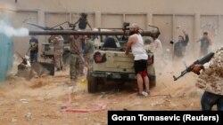 Войска Халифы Хафтара, Ливия, май 2019 года