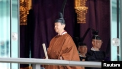 Император Японии Нарухито.