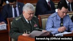 Экс главы ГКНБ и МВД Орозбек Опумбаев и Кашкар Джунушалиев. 19 июня 2019 года.