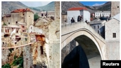Mostar, Then And Now