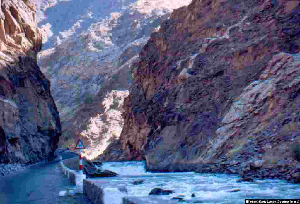 The Kabul Gorge, photographed during a road trip outside Jalalabad. This road is one of the few places in Afghanistan that could be considered as dangerous then as it is now, with car crashes taking a tremendous toll.