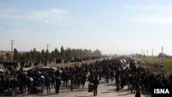 شیعیان ایرانی در مرز مهران