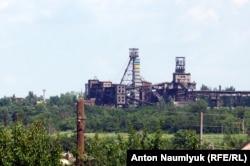 """Шахта """"Трудовская"""", где расположены позиции сепаратистов"""