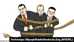 Ýewgeniý Oliýnikiň çeken karikaturasy.