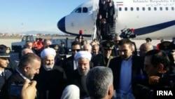 Eýranyň prezidenti Hassan Rohani, Rim