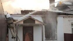 Жителі Красногорівки оговтуються після артобстрілів