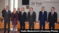 Sa sastanka ministara Višegradske grupe i Zapadnog Balkana u Pragu, 13. novembra 2015, foto: Hadis Medenčević