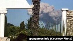 Взрыв в Абхазии.