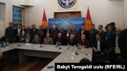 Члены Конституционного совещания.
