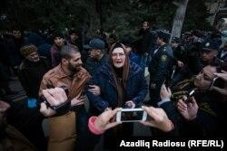 """""""Nardaran işi"""" məhkəməsi qarşısında"""