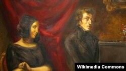 George Sand və Frederic Chopin