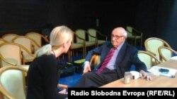 Teodor Meron u razgovoru sa Dženanom Halimović u Sarajevu