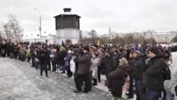 Truckers Protest In Yekaterinburg