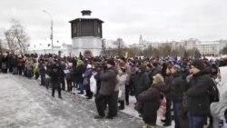 Протесты дальнобойщиков в Екатеринбурге