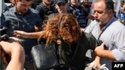 Diyarbəkirdə müəllimlərin etiraz aksiyası - 9 sentyabr 2016