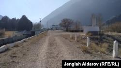 «Գոլովնոյ» ջրամբարը Ղրղըզստանի և Տաջիկստանի սահմանին, 30 ապրիլի, 2021թ.