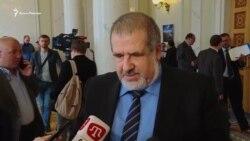 Чубаров: флешмоб у Верховній Раді – «меседж» Криму і політв'язням