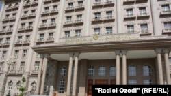Здание МИД Таджикистана