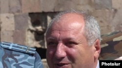Armenia -- Grigori Sarkisian, former head of the State Protection Service who died on September 7, 2009.