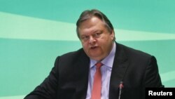 Лидерот на ПАСОК Евангелос Венизелос