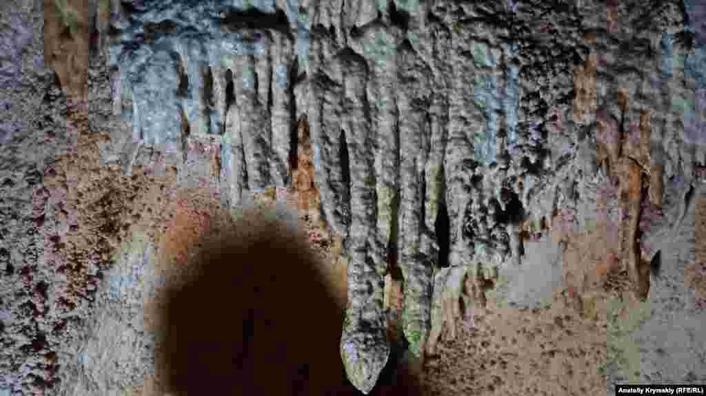 Мелкие сталактиты Эмине-Баир-Хосара