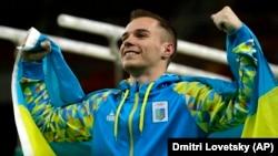 Олег Верняєв, гімнаст, олімпійський чемпіон