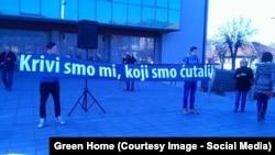 Protest protiv zagađenja u Pljevljima, foto: Green Home