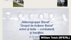 Afișul Colocviului de la Timișoara