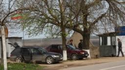Post de control transnistrean în apropiere de Doroțcaia (imagine de arhivă)