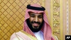 Saud Arabystanynyň mirasdüşer şazadasy Muhammad bin Salman