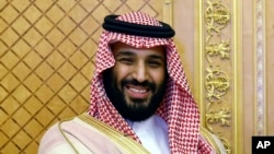 Saudi Crown Prince Muhammad bin Salman has sometimes exchanged hostile statements with Iran. (file photo)