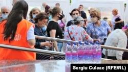 Al treilea maraton de vaccinare anti Covid-19, Chișinău, 26 iunie 2021.