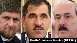 Кадыров, Евкуров, Абдулатипов
