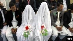 مراسم ازدواج در افغانستان. عکس تزئینی است