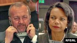 وزرای امورخارجه ایران و آمریکا روز پنج شنبه و در ضیافت ناهار اجلاس شرم الشیخ با یکدیگر کلماتی رد و بدل کردند.