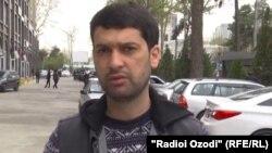 Таджикский журналист Далер Шарипов.