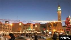 شهر بیت لحم، محل تولد عیسی مسیح، شاهد جشن مشتاقان و مسیحیان بود.