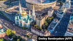 Курбан-Байрам в Москве, 2017 г.