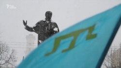 «Ні виборам у Криму!» – львів'яни підтримали патріотично налаштованих кримчан