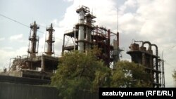 Armenia - Nairit chemical plant in Yerevan.