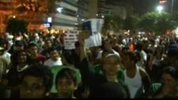 В Бразилии протестовать вышли жители трущоб