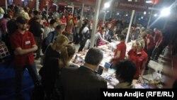 Prvi dan Sajma knjiga u Beogradu, 21. oktobar 2012.
