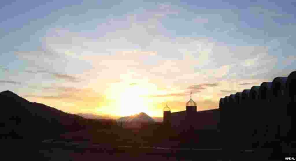 Осень в горах Иссык-Куля #19