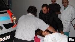 Повредени од сообраќајната несреќа кај кочанското село Оризари ноќеска беа доноесени во Клиничкиот центар во Скопје.
