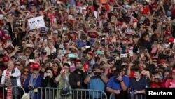 Сторонники Республиканской партии в штате Джорджия, 4 ноября 2018 года