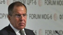 Russian Foregn Minister Sergei Lavrov