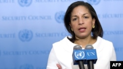 "Susan Rice, the U.S. ambassador to the United Nations, said membership on the Human Rights Council would be ""a tool to advance our interests."""