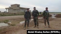 Pjesëtarë të forcave kurde në Irak