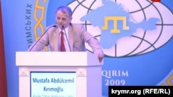 Mustafa Dzhemilev, a veteran leader of the Crimean Tatars, told the conference earlier on August 2 that some 10,000 members of the community have left Crimea since the Russian annexation in March 2014.