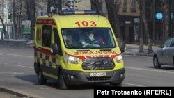 Машина службы скорой медицинской помощи